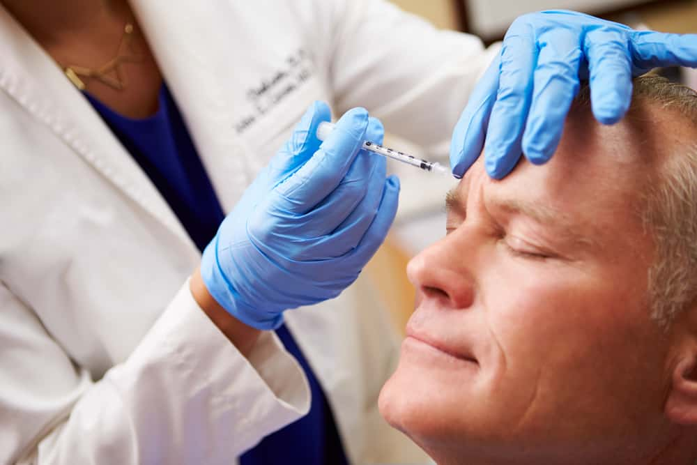 Botox injections for pain relief