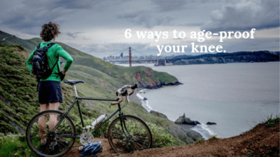 6 ways to age-proof your knees